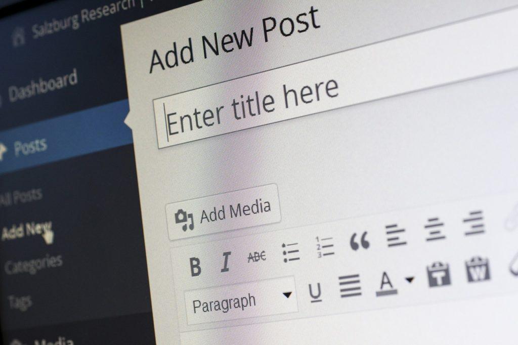 Intégration de contenu sur un blog d'entreprise