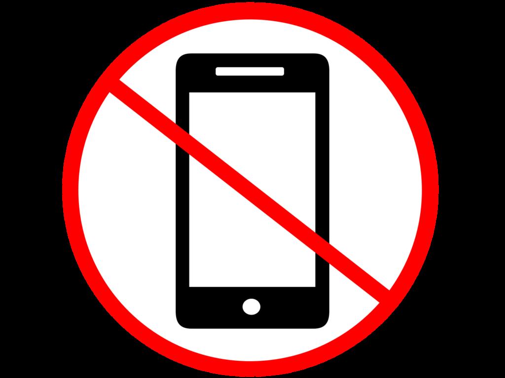 zone sans téléphone