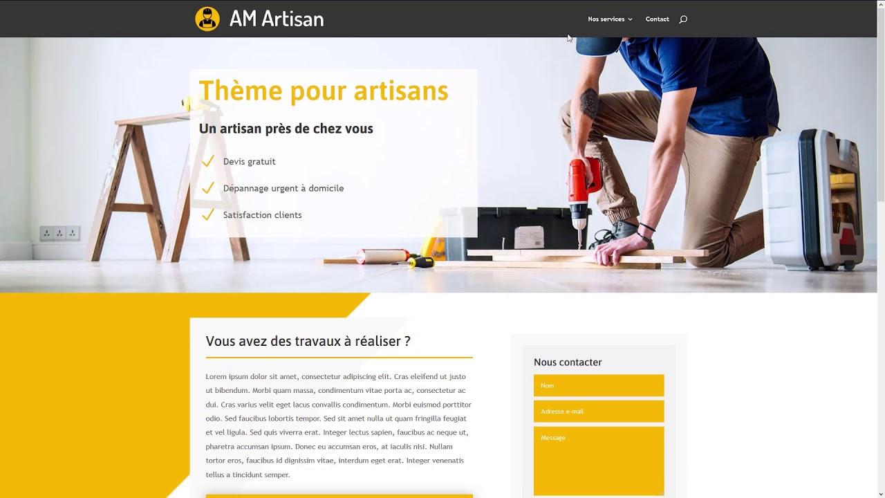 L'importance d'avoir un site web pour les artisans